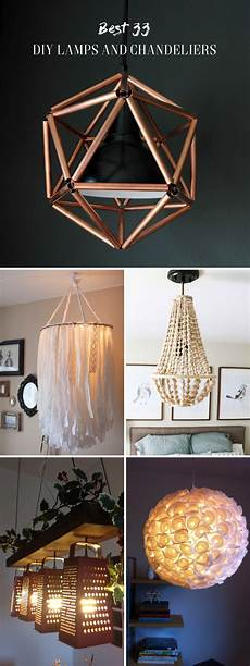 33 diy ls and chandeliers lighting up your home with glory