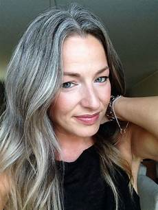 image result for frosted hair for gray hair in 2019 gray