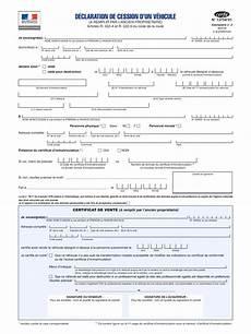 changement propriétaire véhicule certificat de cession certificat de vente v 233 hicule by