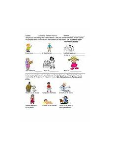 worksheets la familia 18350 partner practice and worksheet la familia teaching resources