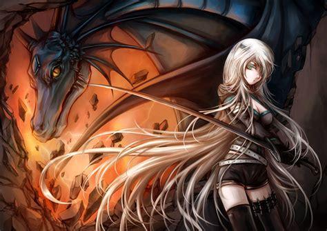 Anime Dragon Girl