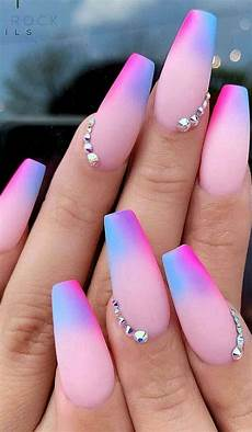 42 acrylic nail designs of glamorous ladies of the summer