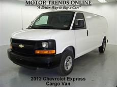 download car manuals 2003 chevrolet express 2500 seat position control sell used 2012 chevy express 2500 extended cargo cd 4 8 v8 vinyl seats 14k motor trends in alvin