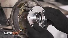 How To Replace Rear Wheel Bearing Fiat Punto Tutorial