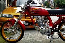 Modif Motor Cb 100 by 51 Foto Gambar Modifikasi Motor Cb 100 Terbaik Kontes Drag