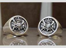 Custom Royal Crest Ring by 3dheraldry   CustomMade.com