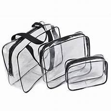 tpu pvc foil clear vinyl travel toiletry bag versatile
