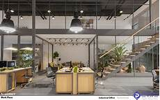 Industrial Interior Design Of An Office