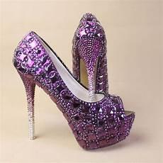 Purple Heels For Wedding