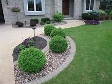 home landscaping with rocks front yard landscaping