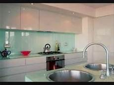 Glass Kitchen Backsplashes Backpainted Glass Backsplash For Kitchen New York