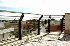 ringhiera vetro e acciaio ringhiera in ferro acciaio e vetro ab serramenti
