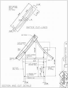 kids crooked house plans roof plans for sloping cottage roof playhouse plans