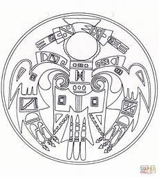 ausmalbild indianisches mandala ausmalbilder kostenlos
