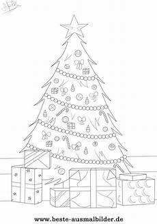 Bilder Zum Ausmalen Weihnachtsbaum Weihnachtsbaum Ausmalbild Kostenlose Ausmalbilder F 252 R Kinder