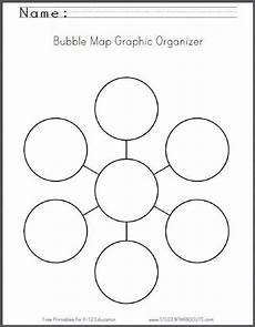 bubble map graphic organizer worksheet free to print graphic organizers graphic organisers