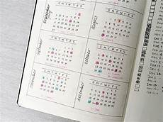 Bullet Journal Jahresübersicht - how to bullet journal the absolute ultimate guide a