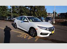 2016 Honda Civic EX   White   GH518280   Seattle   Renton