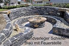Naturstein Feuerstelle Und Grillplatz Im Garten Bieler
