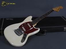 new fender mustang 1964 fender mustang olympic white mint vi64femustow l36575