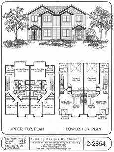 rear entry house plans good plan for smaller town homes rear entry duplex