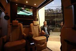 Rich New Yorkers Are Driving Custom Designed Cargo Vans