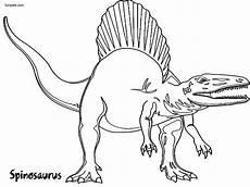 Ausmalbilder Dinosaurier Fleischfresser Free Printable Spinosaurus Coloring Pages Funsoke