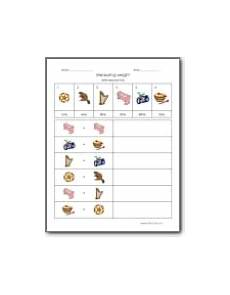 measurement worksheets middle school 1517 weight worksheets