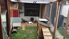 neuer kaninchenstall aussenhaltung hasenstall diy