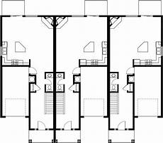 triplex house plans triplex house plans triplex house plans with garage t 412
