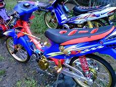 Modif Motor Shogun by Gambar Modifikasi Motor Suzuki Shogun 125