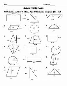 area and perimeter of triangles quadrilaterals and