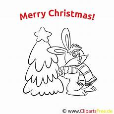 hase weihnachtsbaum merry coloring sheets
