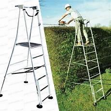 echelle avec plateforme echelle plateforme de travail 4 pieds r 233 glables vente au