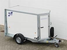 pkw anhänger koffer iforwilliams pkw anh 228 nger koffer bv84g 117x242x153 1 4t