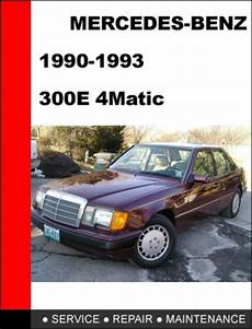 small engine repair manuals free download 1992 mercedes benz 190e windshield wipe control mercedes benz 300e 4matic 1990 1993 service repair manual downloa
