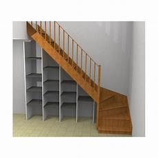 etagere sous escalier etag 232 re sous escalier sur mesure sans socle ni dessus