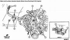 90 heater vacuum diagram what are the heater hose placements on a 1995 ford aerostar 4 0l a c auto trans fi the one iam