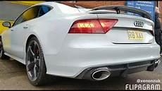 Audi A7 Nardo Grey Sline With X Uk Rs7 Carbon Fiber Rear