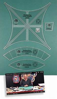 creative grids cathedral window ruler id15169 patchwork quilting ruler templates