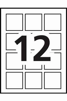 avery 174 print to the edge square labels 22846 template