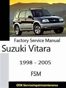 old car owners manuals 2000 suzuki vitara instrument cluster suzuki grand vitara factory service repair manuals