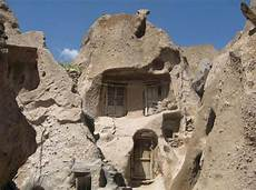 an innovative house carved out of a of iran