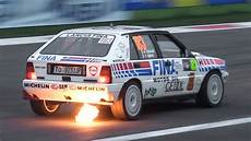 Lancia Delta Hf Integrale Rally A Sound Flames