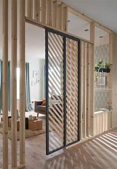 separation de pieces en bois cloison amovible cloison coulissante meuble cloison