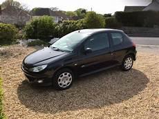 2005 Peugeot 206 Petrol Manual 1400cc Black