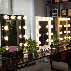 wall mirror with light bulbs decor chic mirror with light bulbs for makeup needs griffinmeadery com