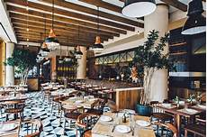 new designs from italian company chef laurent tourondel opens a rustic italian restaurant