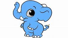 baby elephant coloring page for