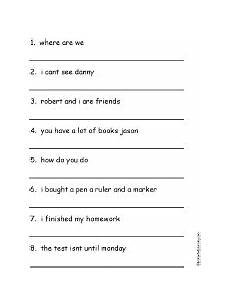 punctuation worksheets for grade 2 20692 punctuate punctuation worksheets punctuation marks punctuation
